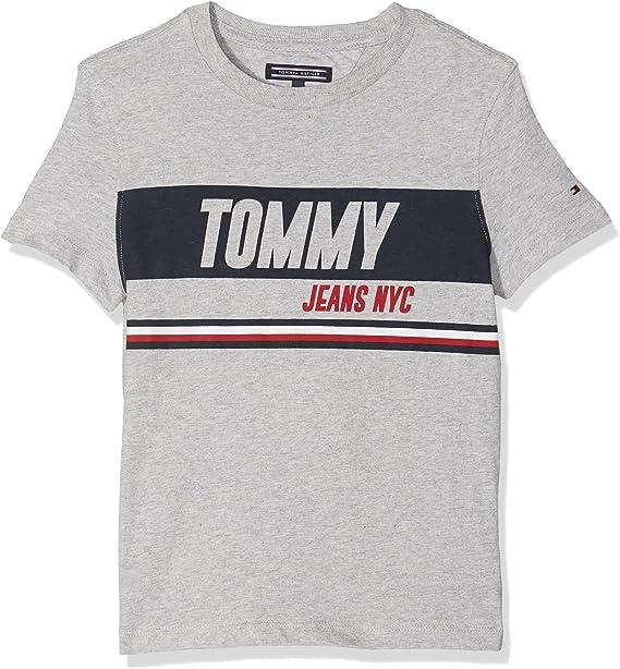Tommy Hilfiger Ame Sporty Block Panel tee S/S Camiseta para Niños: Amazon.es: Ropa y accesorios