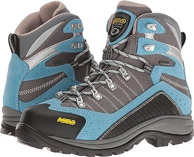 79204c76c10 Amazon.com | Asolo Women's Drifter GV Azure/Stone Boot | Boots