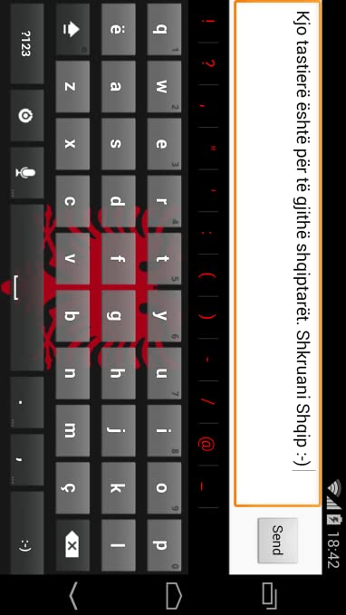 Amazon com: Tastiera Shqip - Albanian Keyboard: Appstore for