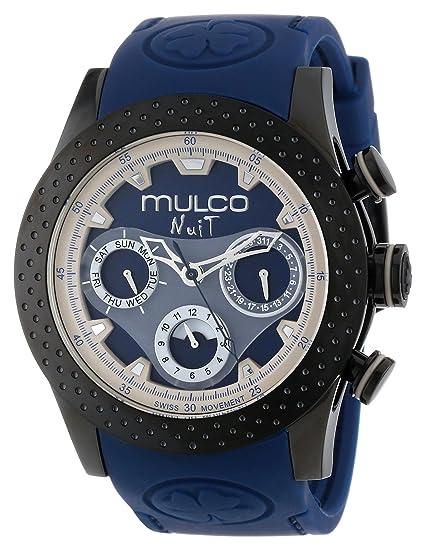MULCO Unisex MW5-1962-045 Analogique cron—grafo Swiss Reloj