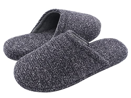 Pantuflas HomeTop con interior de espuma viscoelástica para hombre, color Azul, talla 11-12,5 UK / L: Amazon.es: Zapatos y complementos