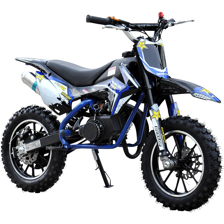 FunBikes MXR 61cm Mini Dirt Bike 50cc Petrol (DC Graphics): Amazon ...