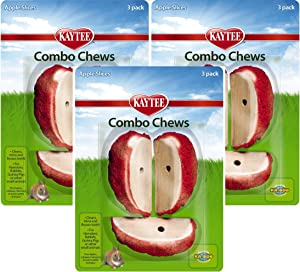 Kaytee Combo Chews Apple Slices, 9-Pack