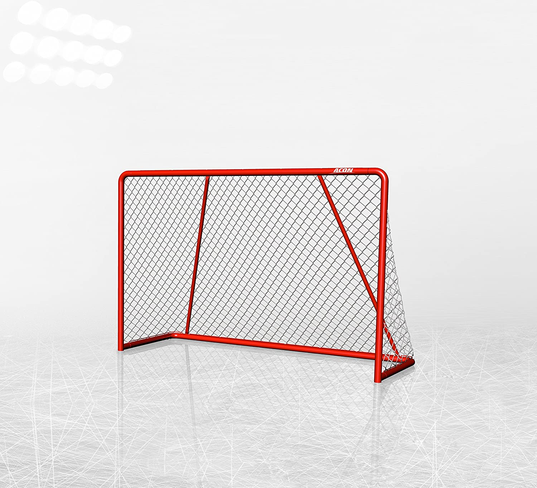 Acon Wave 183 Official Size Hockey Goal | New Model | 90 MPH Shots | 0.2 in Heavy Duty Nylon Net