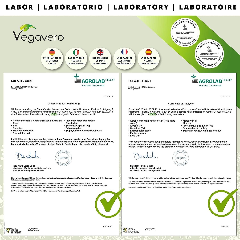 Goji Berries Vegavero® | 500 mg | Antioxidante + Vitaminas y Minerales + Saciante + Vista | Luteína + Zeaxantina | 120 Cápsulas | Vegano | Sin ...