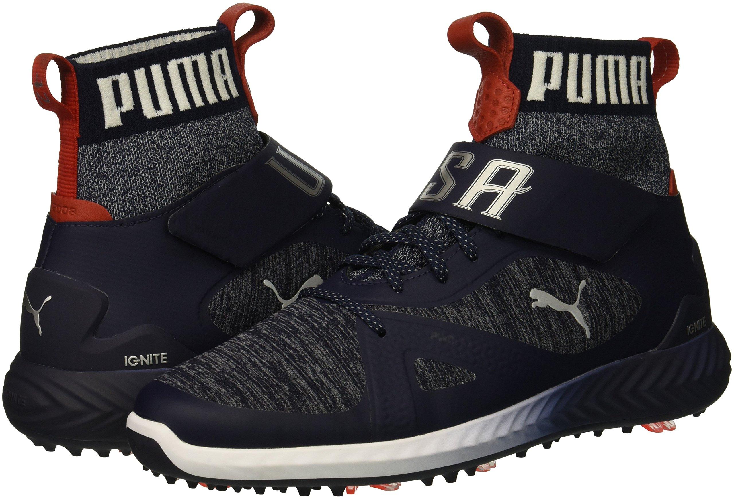 PUMA Golf Men's Ignite Pwradapt Hi-Top Golf Shoe, - Choose ...