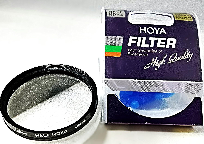 4x Glass Filter ND Hoya 58mm Half Neutral Density