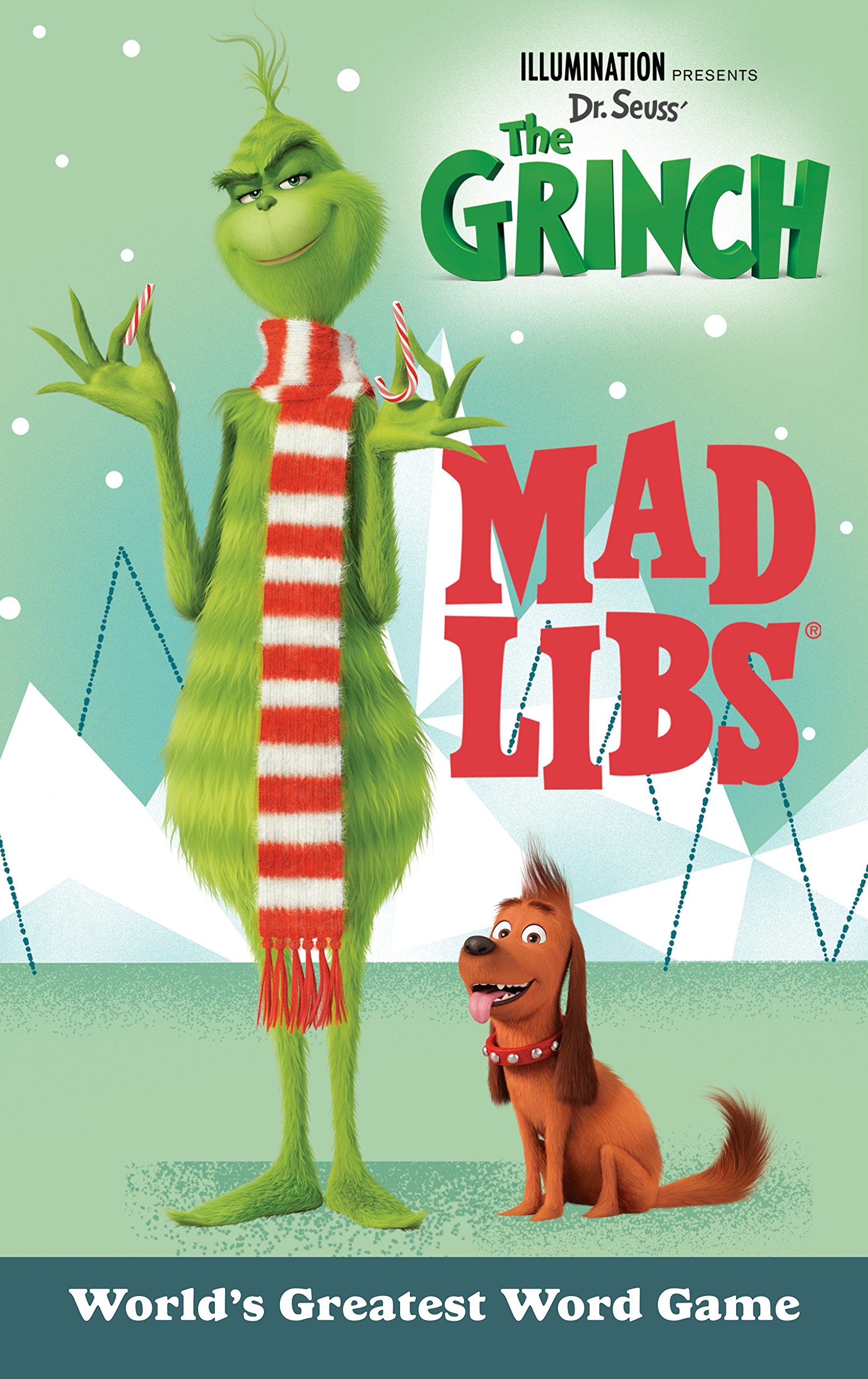 illumination presents dr seuss the grinch mad libs sara schonfeld 9781524788711 amazoncom books