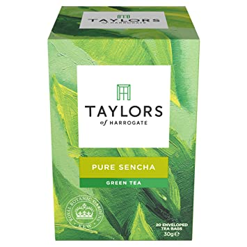 Taylors of Harrogate Pure Sencha Green Tea, 20 Teabags