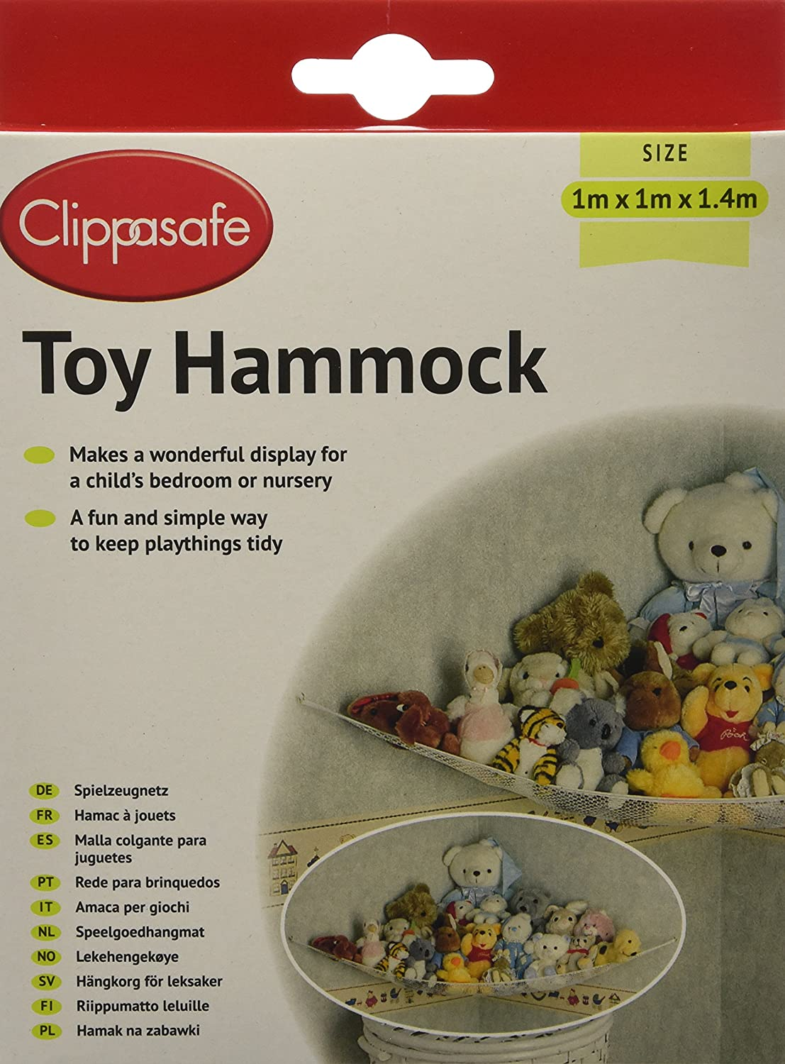 Clippasafe Toy Hammock KitchenCentre CL370