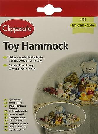 clippasafe ltd corner toy hammock amazon     clippasafe ltd corner toy hammock   nursery hanging      rh   amazon