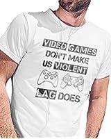 Video Games Don't make Us Violent LAG DOES | Gamer T-Shirt