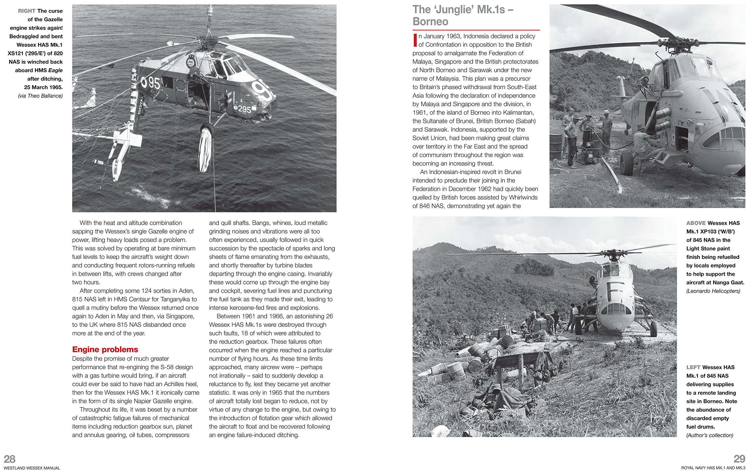 construction SAR and WIP helicopter all models trooping Westland Wessex Owners Workshop Manual: 1958 onwards operation and maintenance of an anti-submarine - An insight into the design