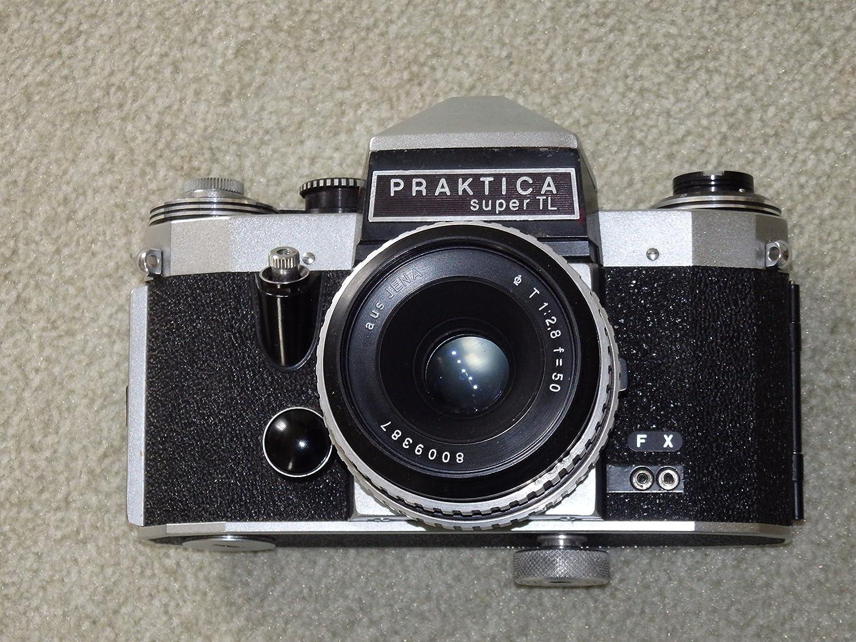 Wo east german praktica super tl camera with case scarce