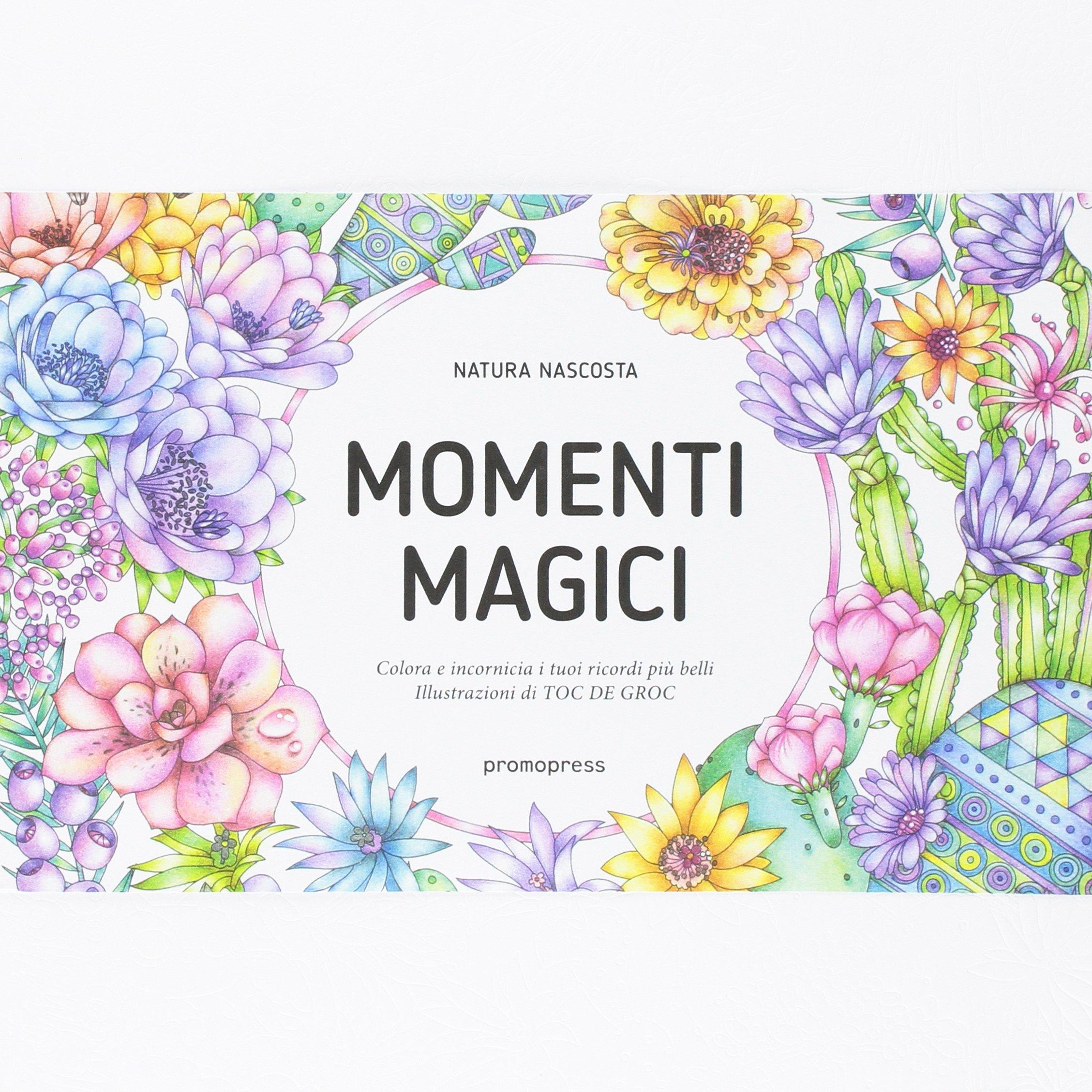 Momenti magici. Colora è incornicia i tuoi ricordi più belli Copertina flessibile – 18 ott 2016 Toc de Groc Promopress 8416504822 Drawing & drawings