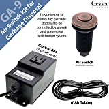 Single Outlet Sink Garbage Disposal Air Activated
