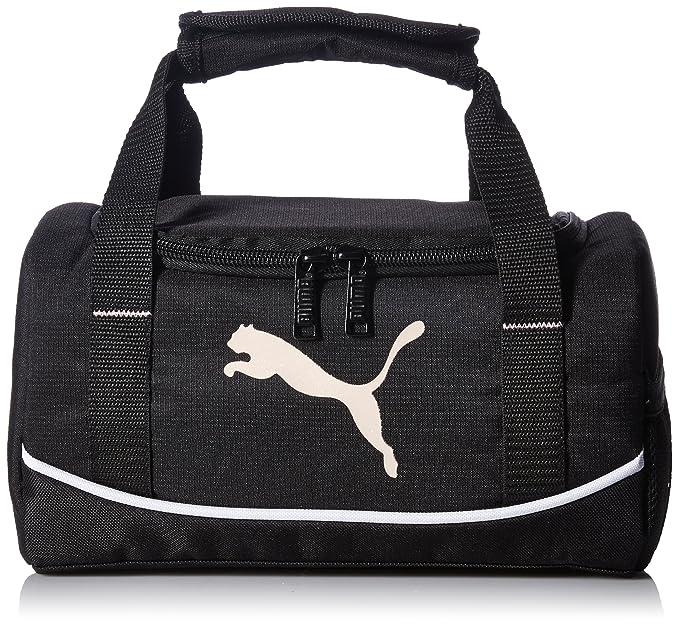 a9287cec9e Amazon.com: PUMA Big Kids' Lunchbox Duffel, black/pink OS: Clothing