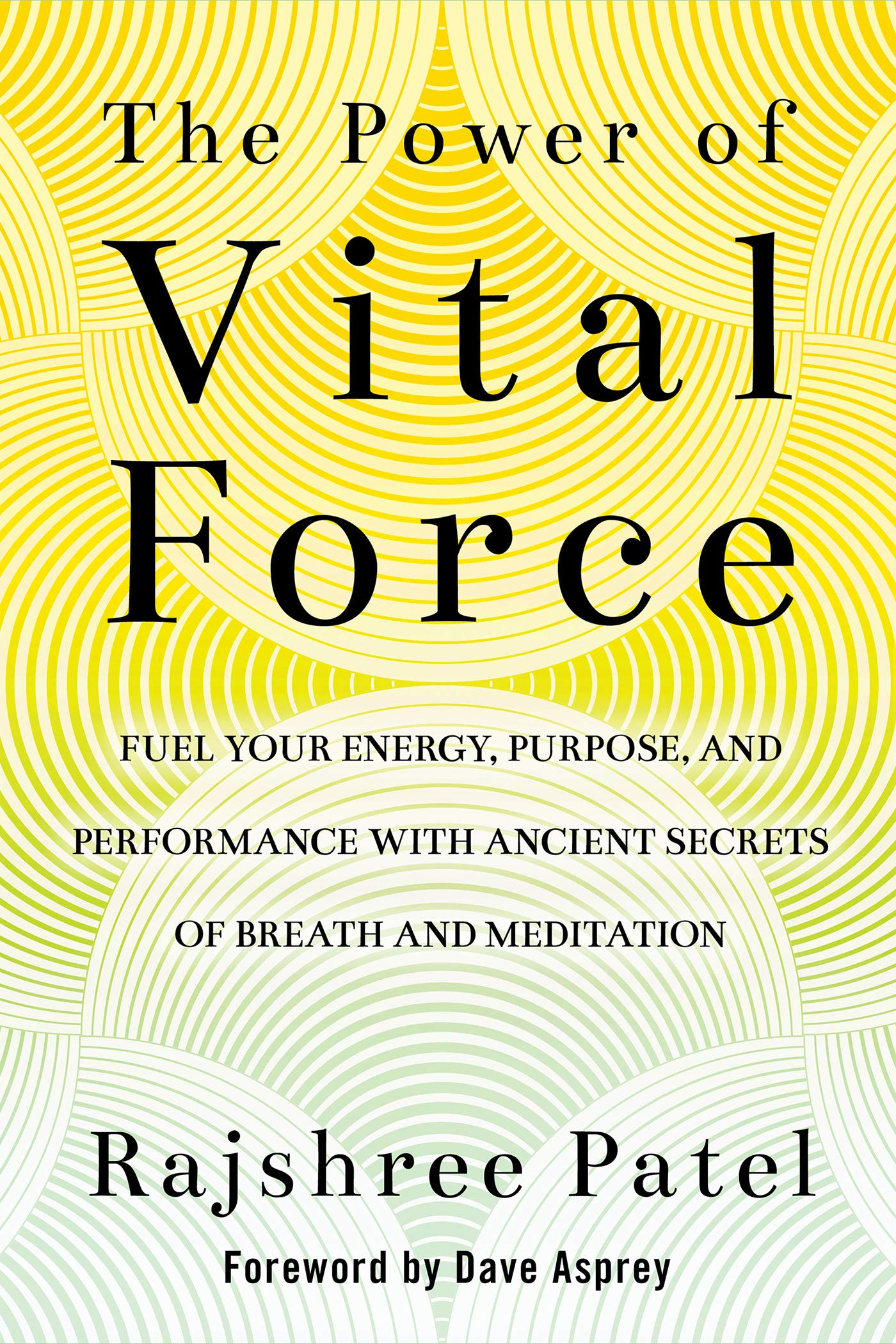 The Power of Vital Force: Fuel Your Energy, Purpose, and Performance with Ancient Secrets of Breath and Meditation by Hay House Inc.