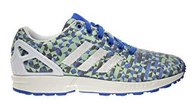 new products 97b47 11688 adidas ZX Weave Mens Shoes BlueWhiteBlack b34474 (10.5 D(M