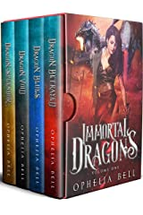 Immortal Dragons: Books 1, 2 & 3 + Prequel (Immortal Dragons Paranormal Romance Box Set) Kindle Edition