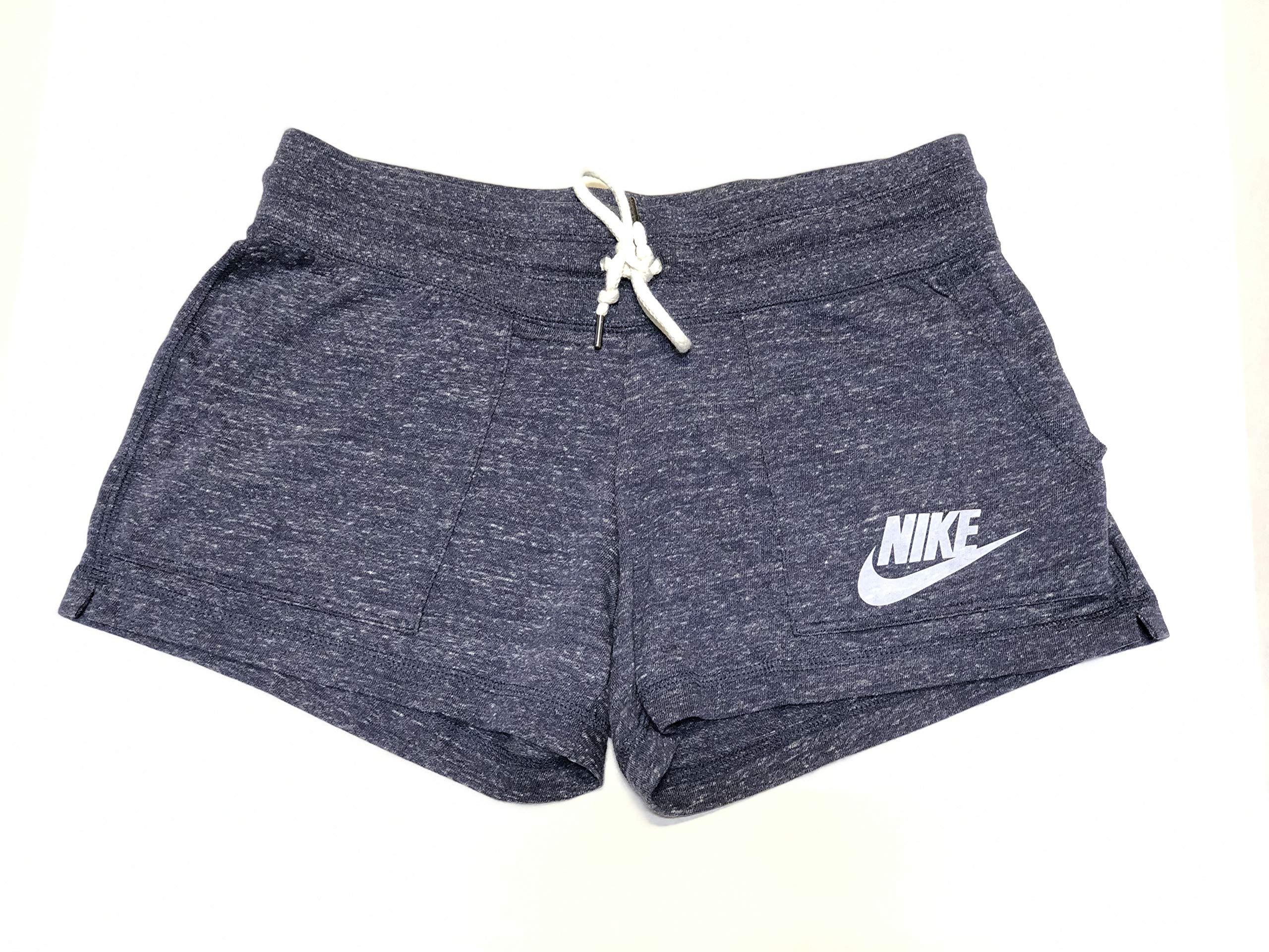 Nike Women's NSW Gym Vintage Short (Small, Thunder Blue (471))
