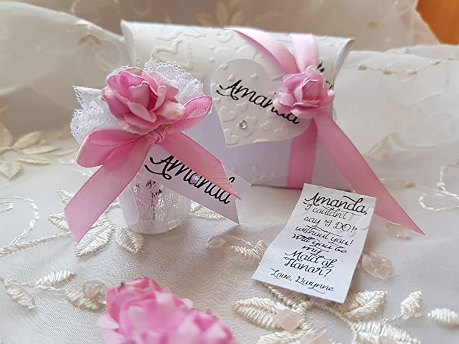 Will You Be My Bridesmaid Gift Message In A Bottle Custom