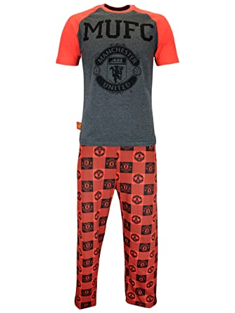 Manchester United Mens Manchester United Football Club Pajamas Size Small