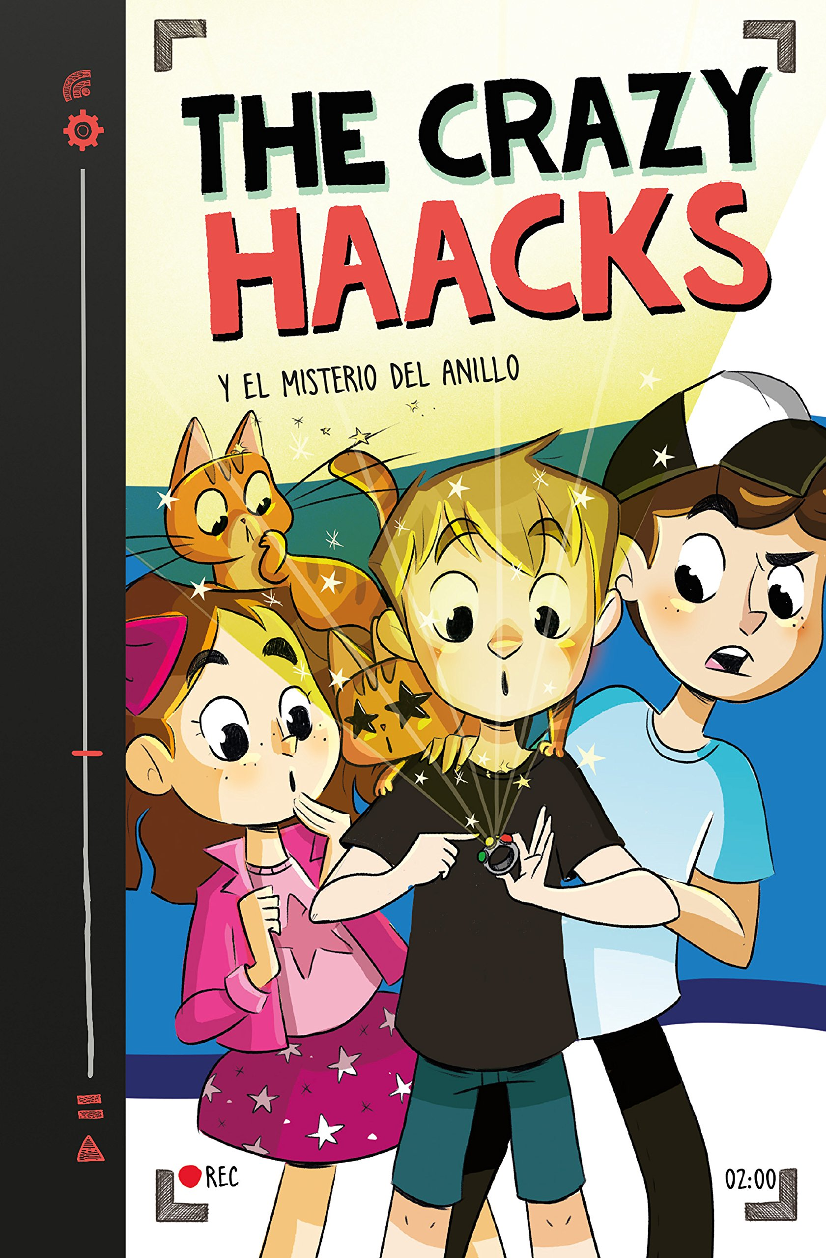 The Crazy Haacks y el misterio del anillo (Spanish) Hardcover – July 1, 2018