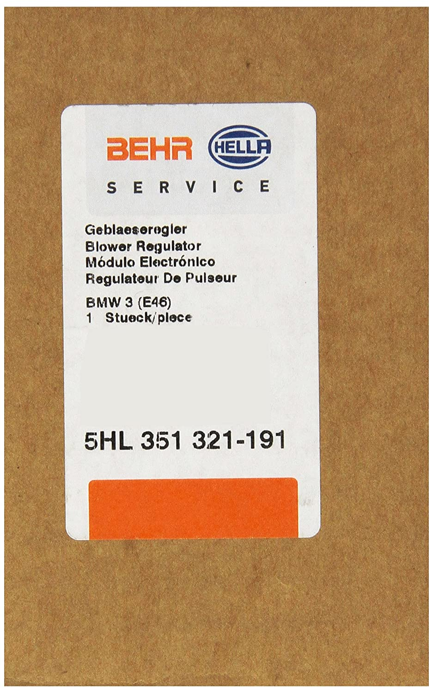 Hella 5HL 351 321-191 Actionneur