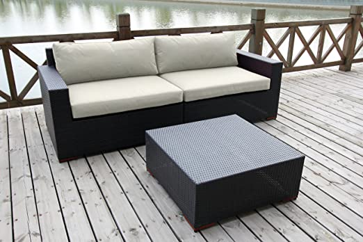 BHG w77303b1004 cibo de profundidad asiento sofá y mesa de café ...
