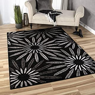"product image for Orian Rugs American Heritage Halley Area Rug, 5'3"" x 7'6"", Charcoal"