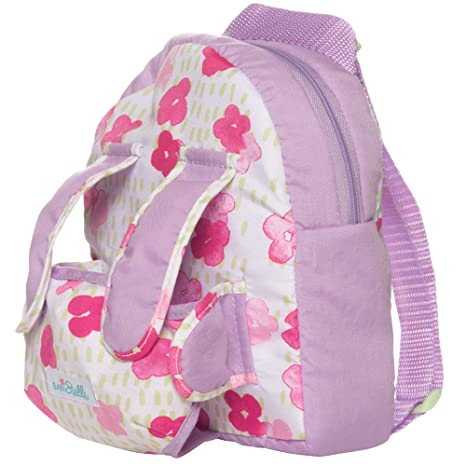 e8360f1388a Image Unavailable. Image not available for. Color  Manhattan Toy Baby  Stella Baby Doll Carrier and Backpack ...
