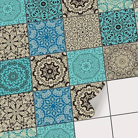 Piastrelle Murali adesive mosaico | Stickers da Parete auto-adesivi ...