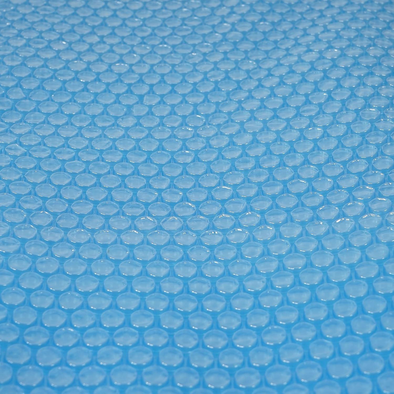 Mendler Pool-Abdeckung Wärmeplane Solarplane, Solarabdeckung, blau, Stärke: 400 µm, rund, 5,48 m Stärke: 400 µm