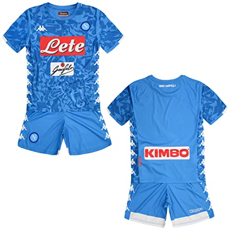 d494af1bca3 SSC Napoli junior home match kit  Amazon.co.uk  Sports   Outdoors