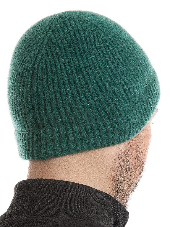 ... DALLE PIANE CASHMERE Uomo - Cappello 100% Cashmere - Uomo CASHMERE Donna  Taglia unica verde ... e5e6a55fea54