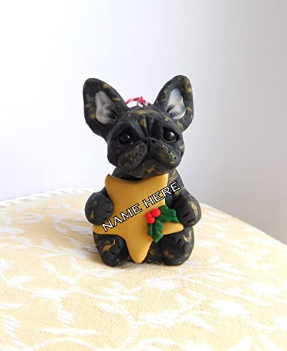 French Bulldog Christmas Ornament.Amazon Com French Bulldog Christmas Ornament Frenchie Art