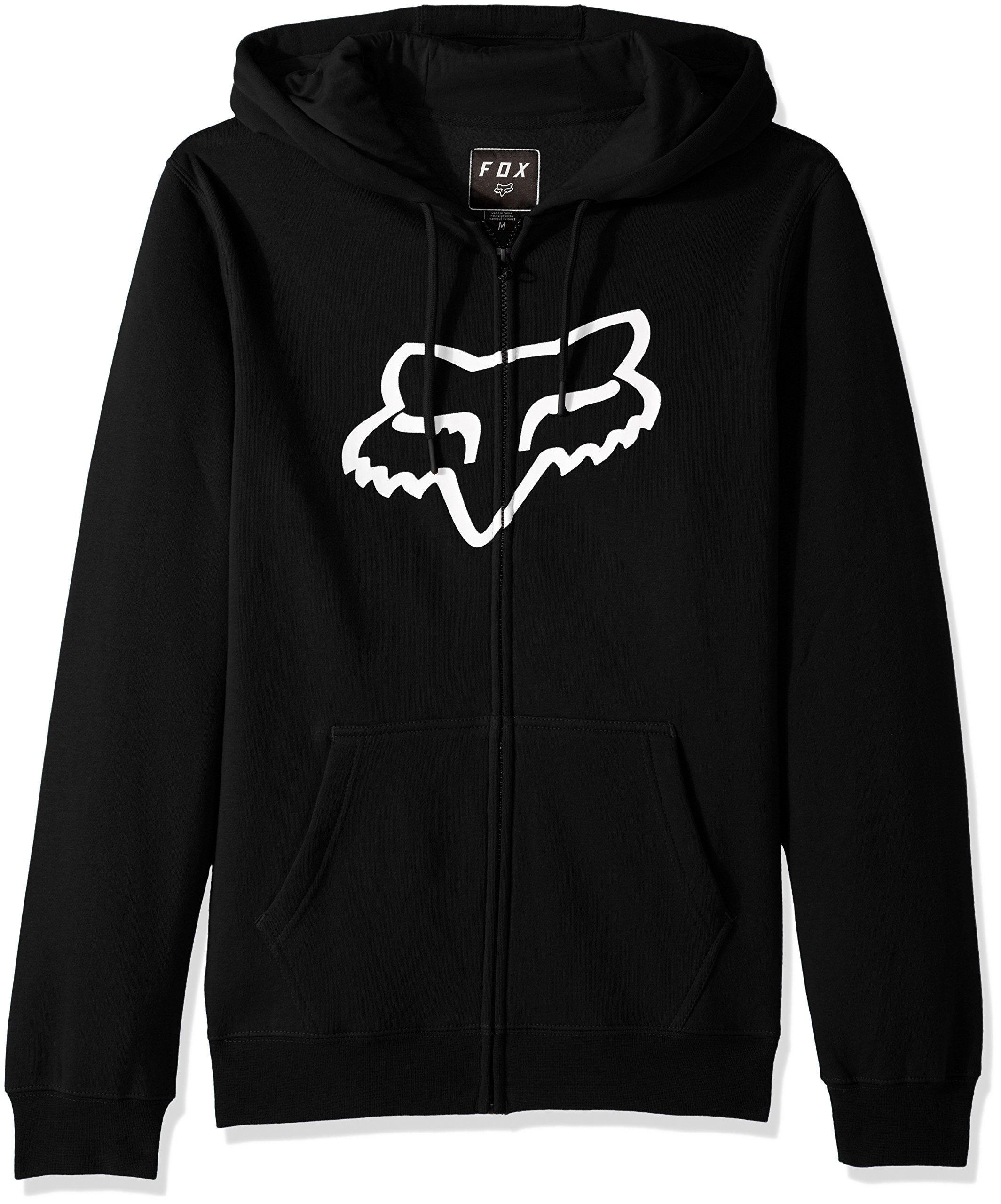 Fox Men's Standard Fit Legacy Logo Zip Hooded