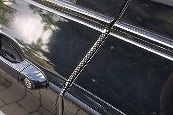2 Meter T/ürkantenschutz Schwarz T/ürrammschutz Gummi passend f/ür Ihr Fahrzeug sch/ützen Sie effektiv Ihren kostenbaren Auto Lack
