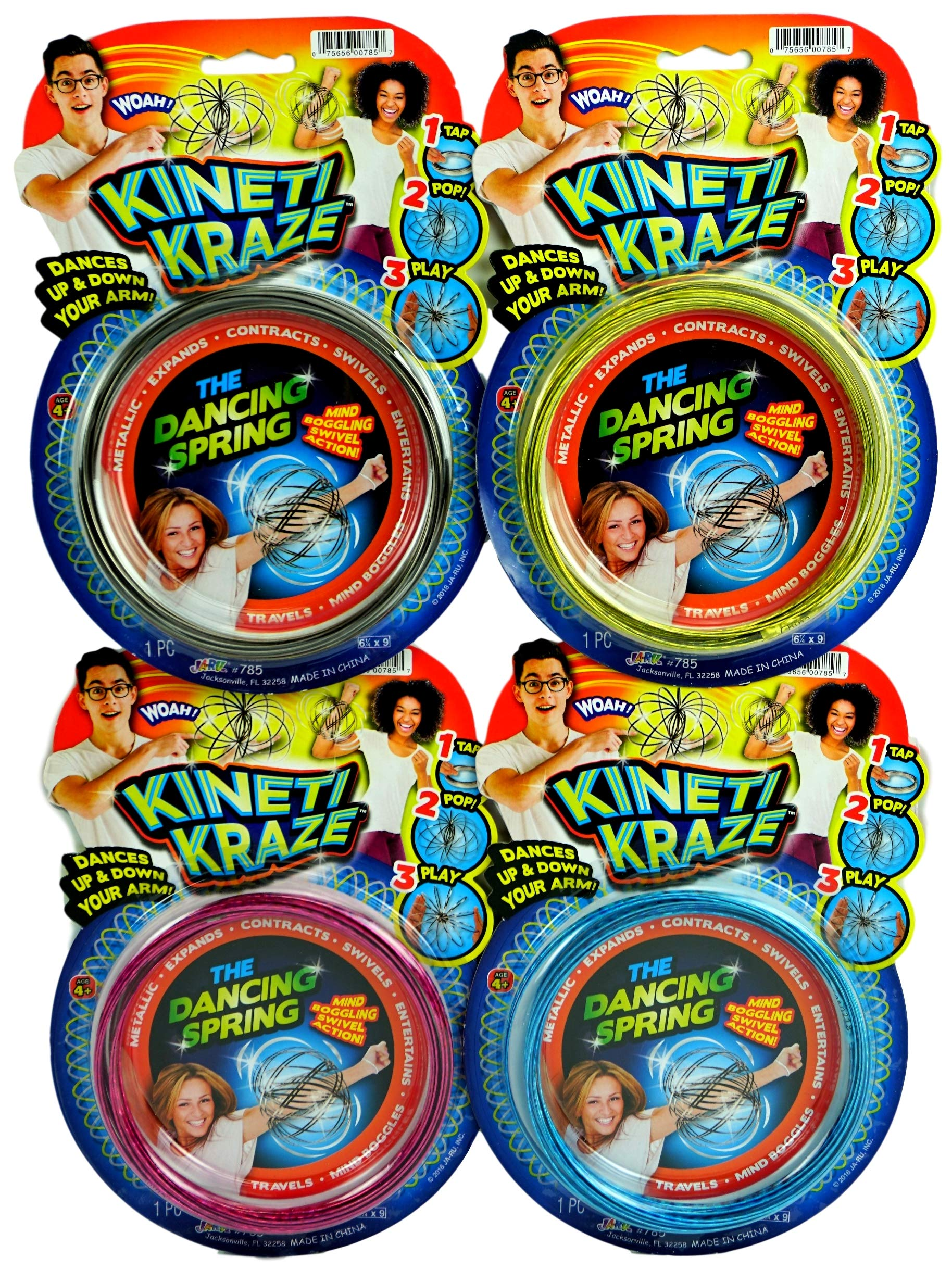 JA-RU Flow Kinetic Ring (Pack of 12) ToroFun Game or Arm Slinky| Item #785-12 by JA-RU (Image #6)