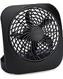 O2COOL FD0500400O006AMB 5-Inch Portable Fan, Black, 1 Unit