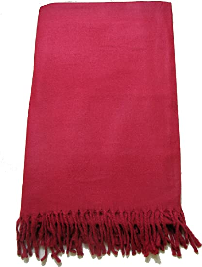 Cosy Throw Christmas Gift FREE UK SHIPPING Yoga Meditation Blanket Plain Yak Wool Shawl Wrap Scarf
