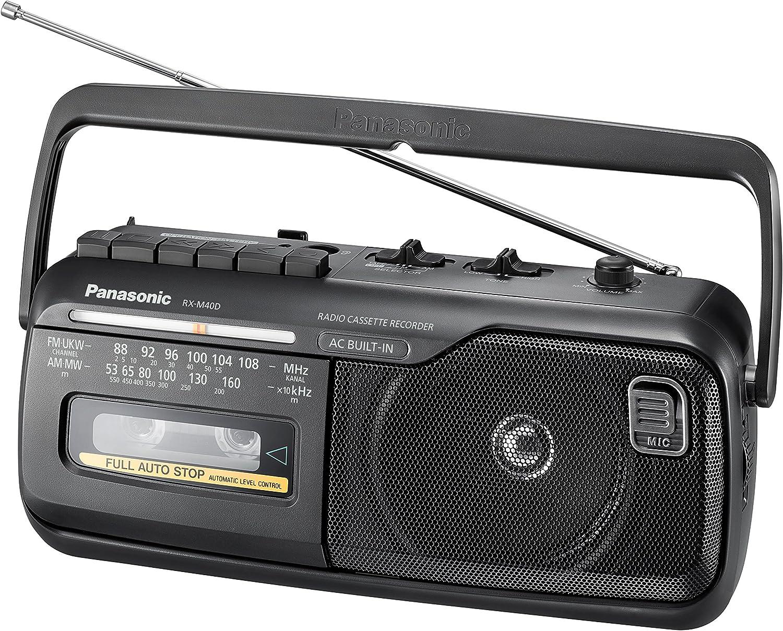 Panasonic RX-M40D - Radio (Portátil, Am,FM, 88-108 MHz, 53-160 kHz, 1 W, 10 cm)