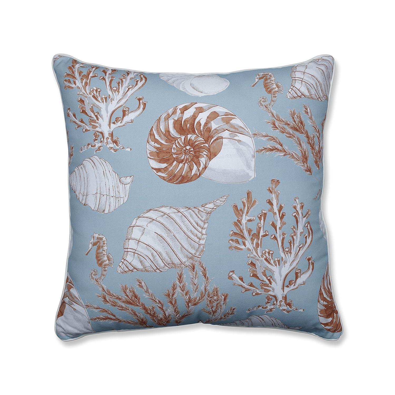 Pillow Perfect Indoor Cape Cod Reef 25-inch Floor Pillow Blue 623399