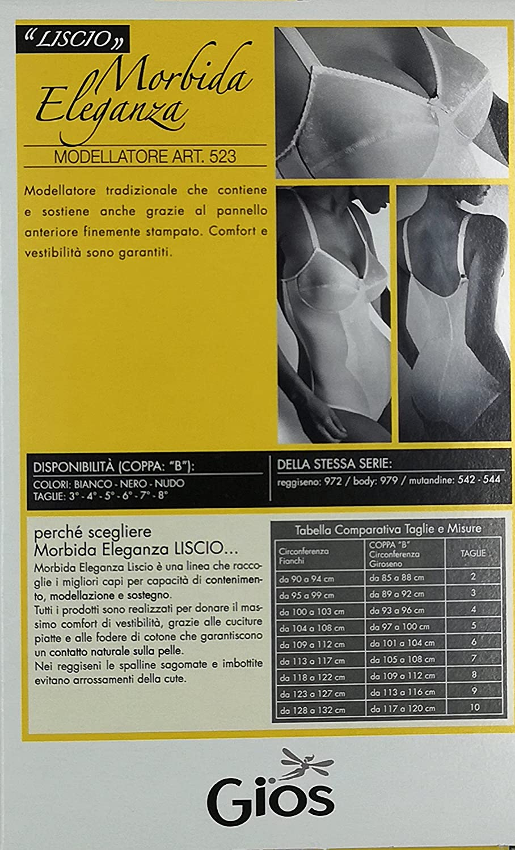 GIOS Donna Body Morbida Eleganza 523