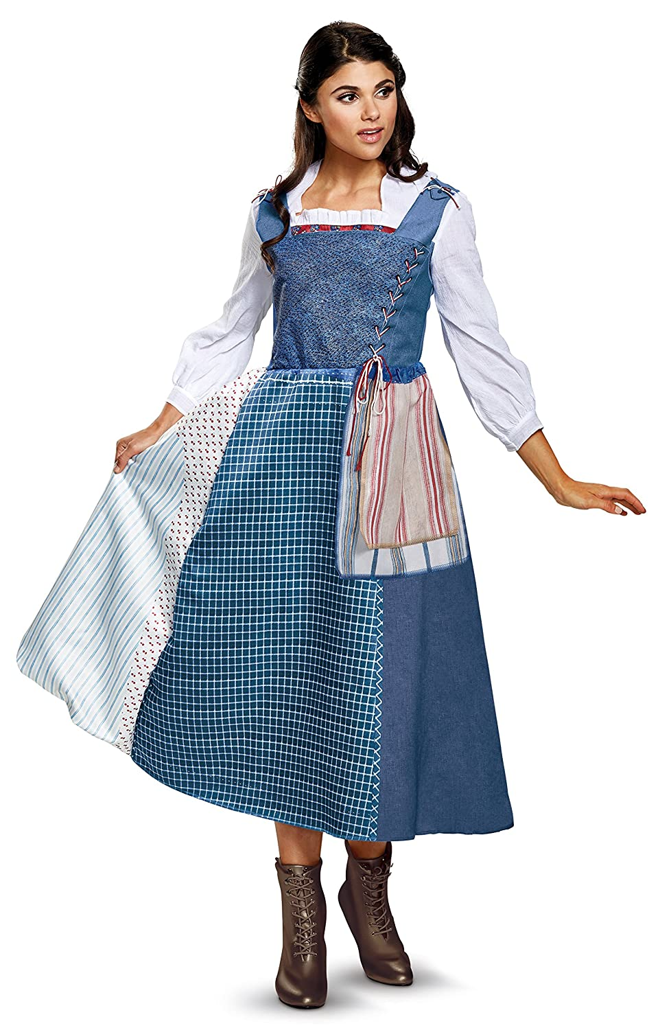 Belle Village Dress Deluxe donna Fancy dress costume Small