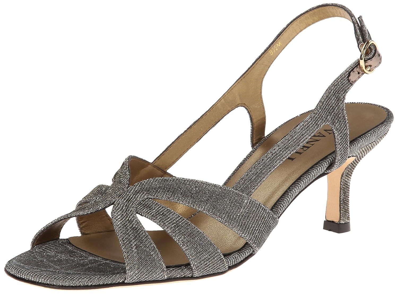 VANELi Women's Maeve Dress Sandal B00HLRLGOY 7 B(M) US|Platinum Nizza Fabric