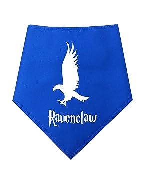 Spoilt Rotten Mascotas (S3) Azul Ravenclaw Casa Designer Perro Bandana Harry Potter Estilo -