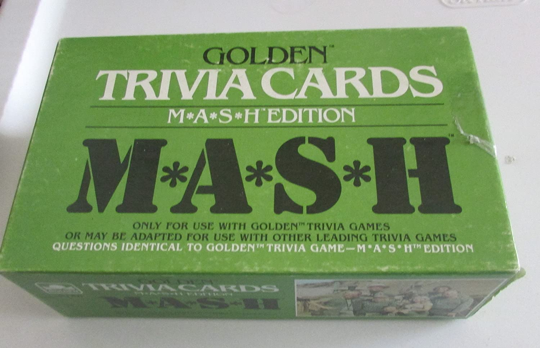 Mash Trivia Card Game