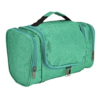 4a0519177ae4 DALIX Travel Toiletry Kit Accessories Bag in Green